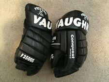 "Vaughn Conquest Pro 15"" Nhl Hockey Gloves Leather Sr Senior Ferland Ccm Cooper"