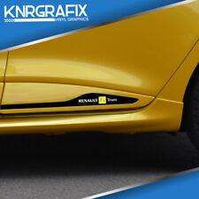 KNR0506 - SIDE BULLET F1 TEAM MOULDING STICKER DECAL - CLIO Mk4 IV RS 200 220