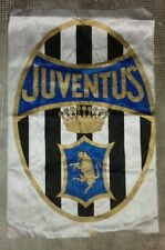 BANDIERA JUVENTUS FC drapeau flag stendardo no ultras Juve logo anni 1970/1980