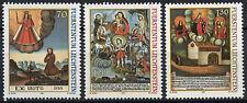 LIECHTENSTEIN 2001 SG#1253-5 votives peintures neuf sans charnière Set #D2043