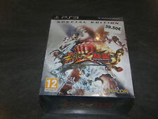 JEU STREET FIGHTER X TEKKEN SPECIAL EDITION CAPCOM NEUF SOUS CELLO