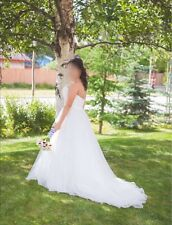 Alfred Angelo Wedding Dress Snow White 207 - Size 8