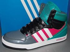 MENS ADIDAS COURT ATTITUDE in colors LEAD / RUNNING WHITE / BLAEME SIZE 10.5
