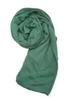 Top Quality Jersey Hijab Stretchy Big Large Plain Maxi Scarf Shawl Sarong Wrap