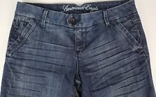 AMERICAN EAGLE Womens Size 10 Medium Wash Cotton Blend Zipper Front Jeans