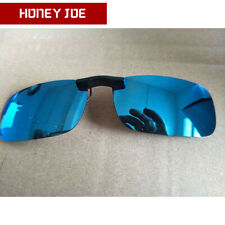 Polarized Clip On Sunglasses Driving Day Night Vision Lens For Myopia Glasses