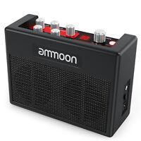 ammoon POCKAMP Portable Guitar Amplifier Amp 5 Watt Built-in Multi-effects F2T5