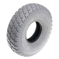 """10""""x3"""" (3.00-4, 260x85) Gray Pneumatic Mobility Tire Durotrap Tread (Primo)"""