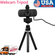 Universal Mini Flexible Metal Tripod Stand for Digital Camera Webcam Black Z2N2
