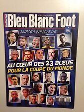 BLEU BLANC FOOT N°41H JUIN JUILL 2014 AU COEUR DES BLEUS POUR LA COUPE DU MONDE
