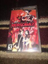 Shin Megami Tensei: Persona 2 -- Innocent Sin (Sony PSP, 2011)CIB