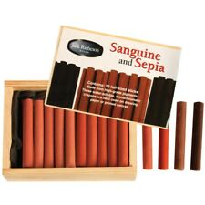 Richeson Sanguine & Sepia Crayon Set