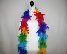 RAINBOW Feather Boa 6 FEET 60 GRAMS Retail 9.99 -14.99 - Lowest Price on eBay