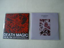 HEALTH job lot of 2 promo CDs Death Magic Stonefist