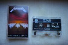 Metallica - Master Of Puppets Cassette, MC 1994