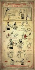 Vintage Style Poster – The Gentleman's Guide to Amputation (Medical Anatomy Art)
