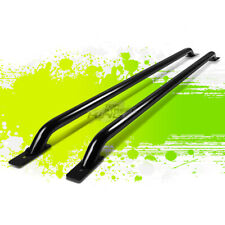 "PAIR 87"" BLACK TRUCK RAIL BAR FOR 99-13 SILVERADO/SIERRA 1500-3500 96""/97.6""BED"