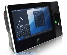 7 Inch touch screen Biometric Fingerprint time attendance device Biopad100+WiFi