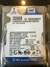 """Western Digital WD3200BEVT 320GB 5.4K RPM 3Gb/s 8MB 2.5"""" SATA Laptop Hard Drive"""