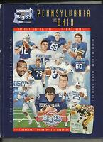 1997 Big 33 Pennsylvania vs Ohio Football program: Hershey, PA