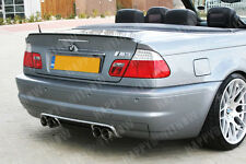 BMW E46 Convertible 1999-2005  Boot Lip Spoiler Spoiler M3  M-Type UK Seller