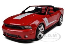 2010 FORD MUSTANG 427R CONVERTIBLE ROUSH RED 1/18 DIECAST MODEL BY MAISTO 31669