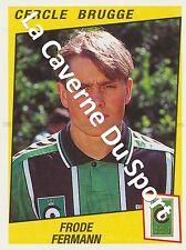 N°077 FRODE FERMANN # NORWAY CERCLE BRUGGE STICKER PANINI FOOTBALL 1997