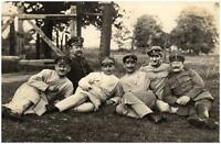 Militär 1. WK World War ~1915 Soldaten Gruppenfoto Echtfoto Soldiers Real-Photo