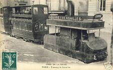 France CPA Paris Tramway de la Seine (f1844)