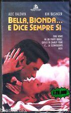 Bella, bionda... e dice sempre sì (1991) VHS Hollywood Pct. - NEW cellofanata