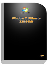 Microsoft Window 7 Ultimate 32&64bit Operation System DVD & Remove Activation CD