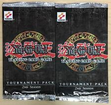Yugioh Tournament Pack 2nd Season English Booster Pack Lot of 2 - QTY AVAIL