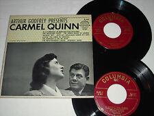 CARMEL QUINN-Arthur Godfrey Presents (1954) COLUMBIA 2x 45 RPM E.P. Set