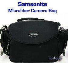 SAMSONITE Microfiber Mid Sz SLR~Film~Digital Camera Bag w/Pockets Film Digital!