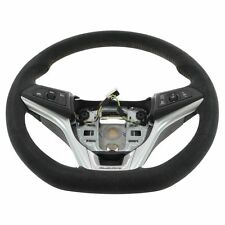 OEM 22896546 Black Suede with Red Stitching ZL1 Steering Wheel for 12-15 Camaro