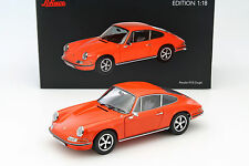 1/18 -  PORSCHE 911S 2.4 (901) 1973 Dark Orange - SCHUCO