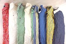 Ralph Lauren & Tommy Hilfiger Women's Lot of 8 Button Down Shirts Small S F14857