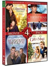 HOLIDAY COLLECTION 4 MOVIE PACK New DVD Moonlight & Mistletoe Gift of the Magi