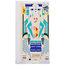 Decal Sheets 1:10 Formula 1 Sauber Petronas 2003 HEINZ HARALD FRENTZEN 10 Nick