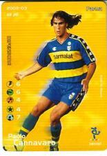 FOOTBALL CHAMPIONS 2002/2003 - PAOLO CANNAVARO - 087/107 - PARMA