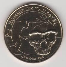 A 2011 TOKEN MEDAILLE MONNAIE DE PARIS -- 66 720 N°2 HOMME TAUTAVEL PREHISTOIRE