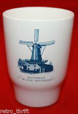 Villeroy and Boch Snuifmolen De Lelie Rotterdam Mug Cup Holland Windmill AS-IS