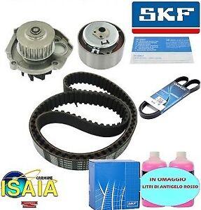 Kit distribuzione SKF pompa acqua e cinghia servizi per Fiat Punto Panda 1.2 1.4