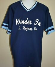 Vintage WANDER IN Jersey Shirt Large Bar League Baseball Softball Wisconsin