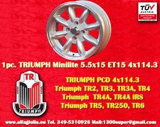 1 Cerchio Triumph TR2 TR3 TR4 TR5 TR6 Minilite 5.5x15 4x114.3 N.1 Wheel Felge