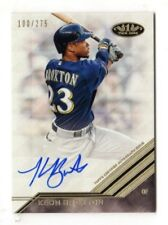 KEON BROXTON MLB 2018 TOPPS TIER ONE BREAK OUT AUTOGRAPH (MILWAUKEE BREWERS)
