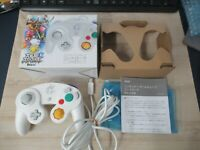 L864 Nintendo GameCube official Controller White Smash Bros Wii U Japan GC x