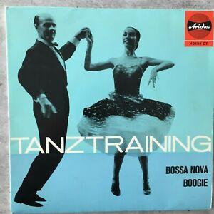 TANZTRAINING: Bossa Nova / Boogie - Max Greger / Macky Kasper (EP Ariola 40 186)