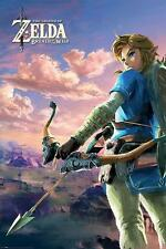 NEW * ZELDA *  BREATH OF THE WILD  MAXI POSTER 62cm X 91cm  ...no26