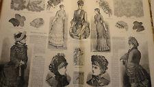 mode femme La Mode Illustrée, 1883 - 24e année